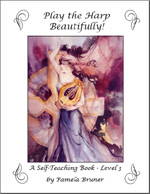 Play the Harp Beautifully - A Self-Teaching Book, Level 3