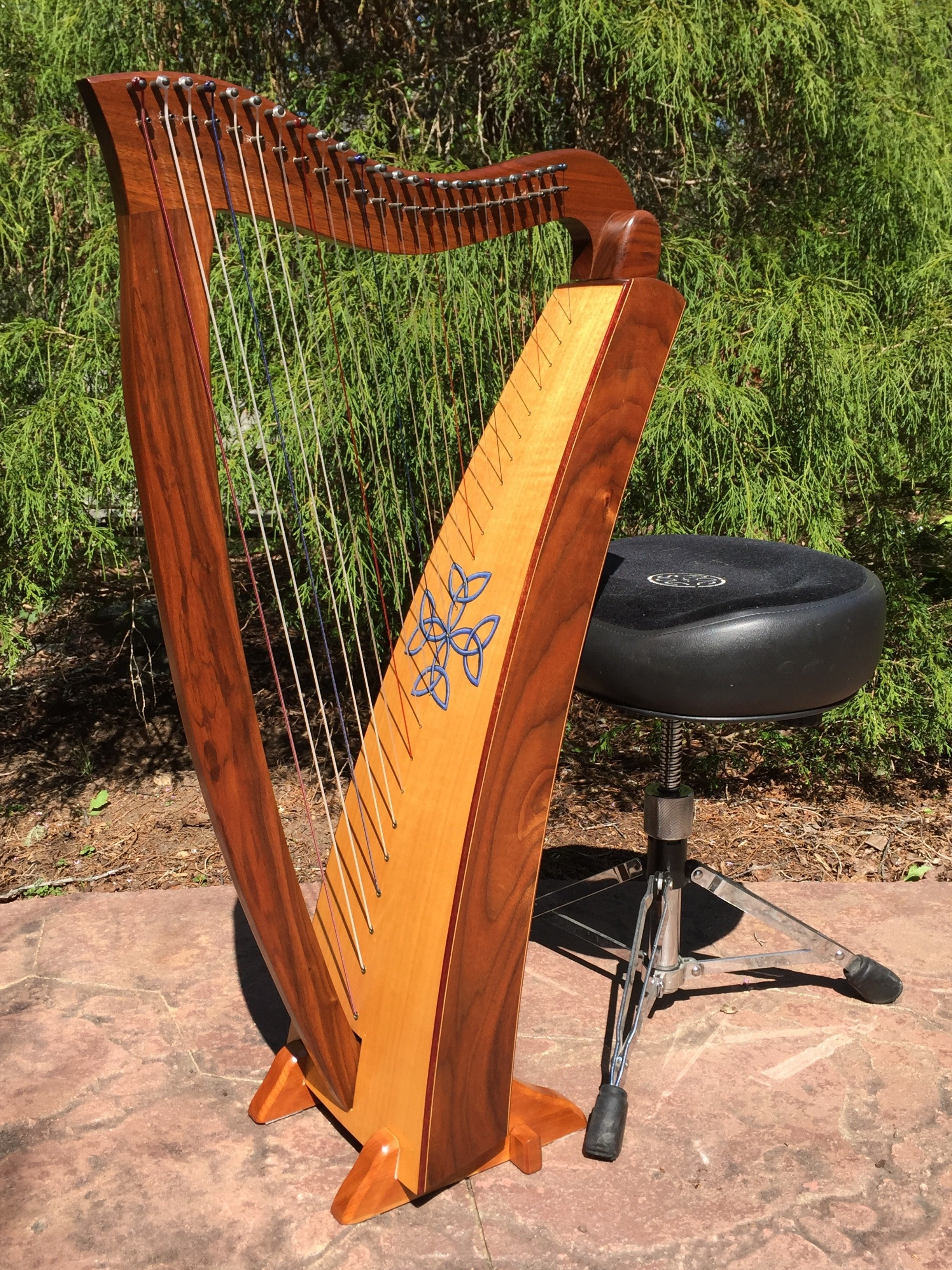 Sernity Wood Heartland Harp