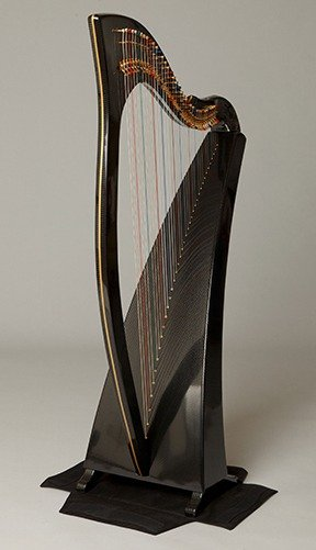 How to put Delight harp in two-part case