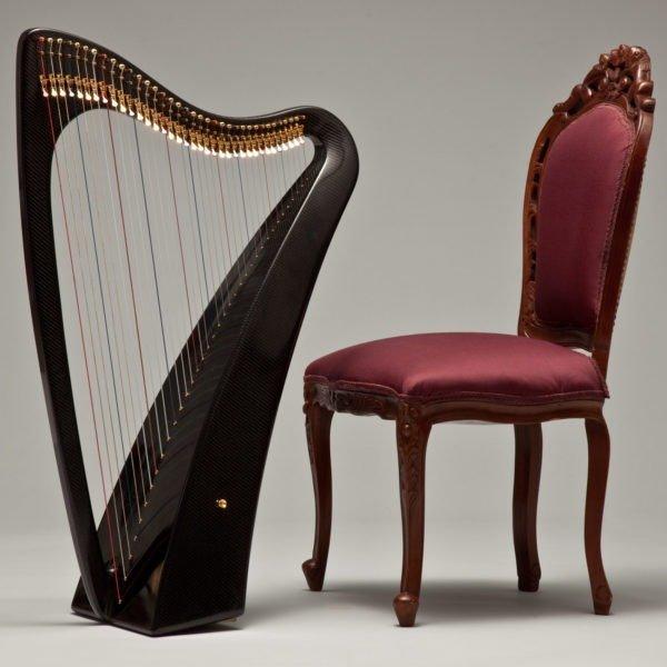Legend Harp Size