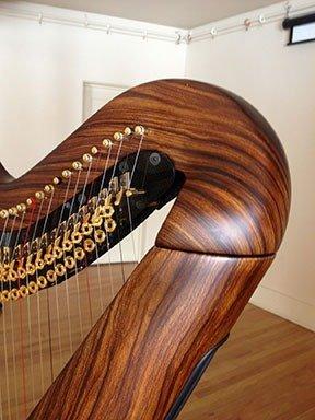 Woodgrain Starlight carbon fiber pedal harp
