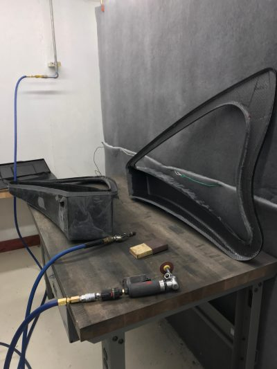 building carbon fiber harp