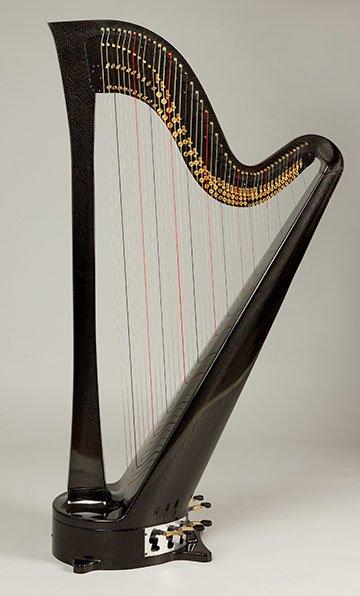 carbon fiber pedal harp