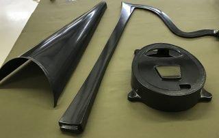 carbon fiber harp parts