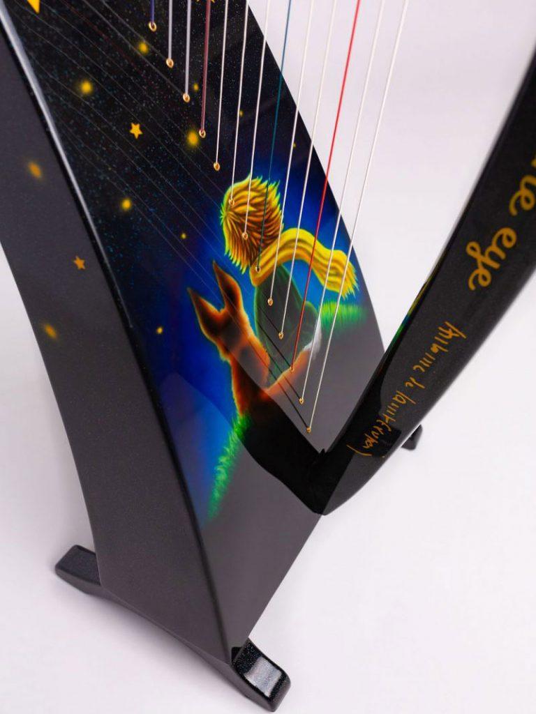 lightweight harp